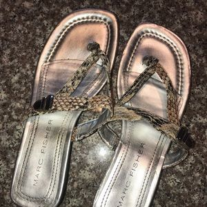 Marc Fisher sandals size 8.5
